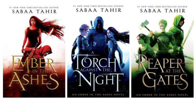 Ember Series Covers